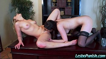 Lesbians Girl (casey mia) In Punish Sex Scene Using Dildos clip-17 7 min
