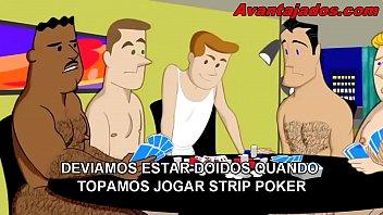 Porno gay em desenho o strip poker
