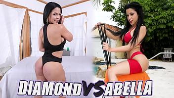 BANGBROS - Battle Of The GOATs: Abella Anderson VS Diamond Kitty