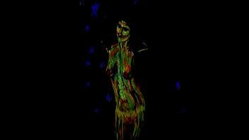Glowing Body Art