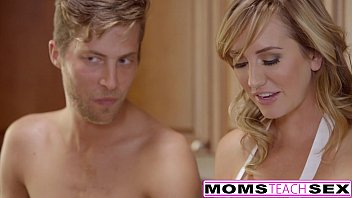 MomsTeachSex - Horny Mom Tricks Teen Into Hot Threeway Preview