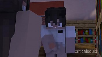 Boy Gets Caught Jacking Off In Library [Minecraft Animation]