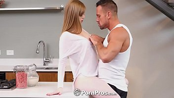 PORNPROS Pale Teen Dolly Leigh White Couch Creampie Fuck