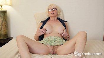 Hard nipple milfs - Mature eden masturbating her pussy