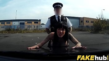 Free police woman porn Fake cop hot cyclist with big tits and sweet ass