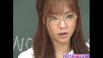 Manami Suzuki Is Pumped In The Classroom