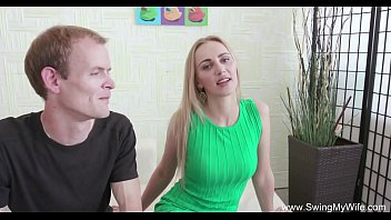 Swinger Blonde MILF Stranger Fuck