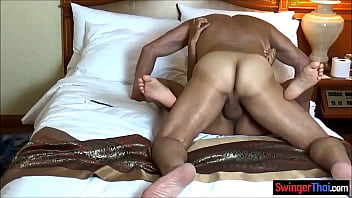 Cheating Thai Wife Is A Dirty Swinger Fucking Hubbys Friend