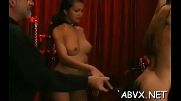 Kinky maiden caressed tenderly