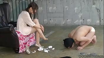 Japanese Femdom Emiru Otohime Foot Worship