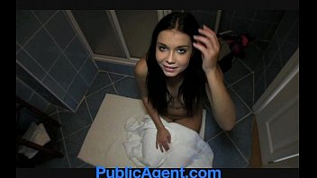 Great big fuck Publicagent brunette babe is a great fuck