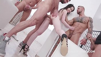 Sweetie Plum Fucking Wet Beer Festival 4on1 DP Edition, Balls Deep Anal, Pee Drink and Facial GIO1417