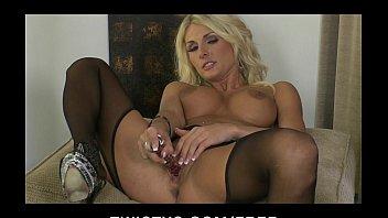 Adult comics secret plot - Hot blond milf alicia secrets teases masturbates in stockings