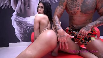 Alexia Nazario Shakes Her Big Tgirl Booty then Gets It Fucked
