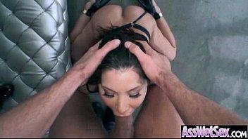 (aleksa nicole) Girl With Curvy Huge Butt Enjoy Anal video-03