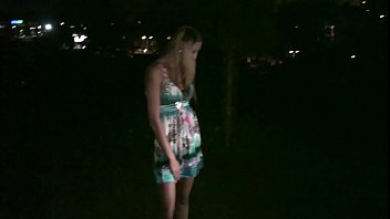 Blonde cutie Kitty Jane going to join dogging public sex gang bang orgy 10 min