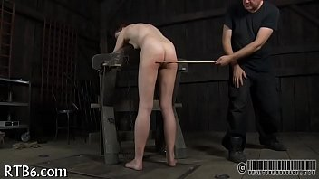 Her bottom - Brutal beating of babes bottom