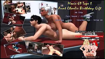 Movie 69 Aunt Charlie Birtday Gift 020 (Futa x male)