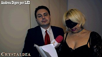 Crystaldea, esperta in mungitura testicolare, incontrata da Andrea Diprè