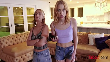 Teen Sisters Blackmailed And Fucked By Brother- Chloe Cherry, Gwen Vicious