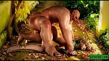 Forbidden Orcish Love. Elf Fucked By Monster