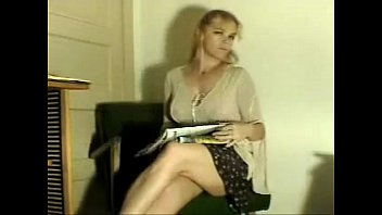 Newspaper nudes Blonde milf farting while reading the newspaper on shittytube