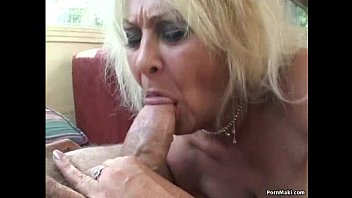 Horny old women porn Threesome with granny and bbw