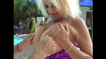 Threesome with Granny and BBW thumbnail