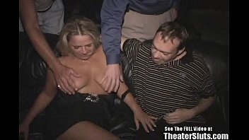 Berfday Bitch Anal Whore in Porn Theater