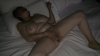 Mom masturbating to hotel porn by MarieRocks 2 min