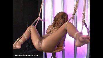 Sexual punished Japanese bondage sex - extreme bdsm punishment of asuka