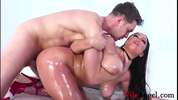 Watch Angela White'_s Full Anal Oiled Pussy Squirt