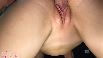 Lover Sensual Fuck Narrow Pussy Girlfriend - Closeup Creampie 5 min