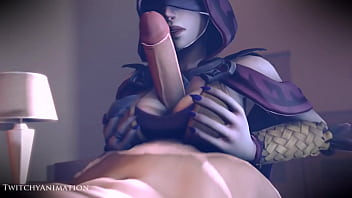 Seris titfuck and blowjob paladins rule 34...