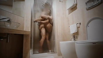 She wanted to feel the big cock of her one night stand in the shower again