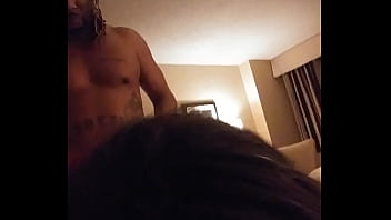 I love my pussy being filled with black dick
