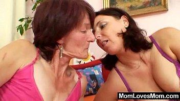 Mature hairy lesbians amuture - Hairy grandma toyed by busty mature lesbian