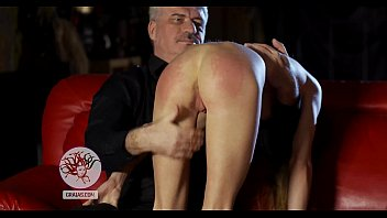 Humiliated spanked bitch - Hard spanking for skinny bitch