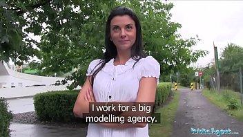 Public Agent Pretty in shorts fucked in a car after POV blowjob porno izle