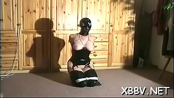 Tied up woman forced to endure severe sadomasochism xxx moments