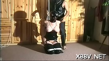 Tied up woman forced to endure severe sadomasochism xxx moments Thumbnail