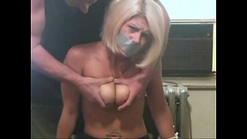 xhamster.com 1266436 blonde girl bound on a chair and getting titslapped