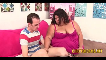 Fat SSBBW Asian Gets Her Pussy Rammed Hard
