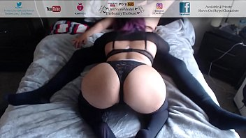 Sexy colombian lingerie - Vegas escort blowjob from big booty latina in stockings sexy lingerie