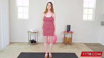 Fit18 - Hazel Moore - 54kg - Casting All Natural Teen Born On Y2K 12 min