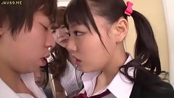 Asian Schoolgirls Seduce Classmate - More Videos at HotAsianOnline.com