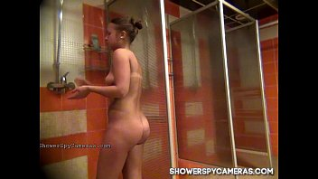 Hot teen caught on hidden cam at ShowerSpyCameras.com