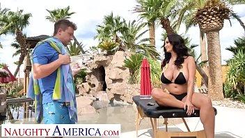 Naughty America - Ava Addams fucks her son's friend