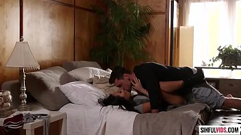 Tell me something dirty and cum on me - Asa Akira and Ryan Driller