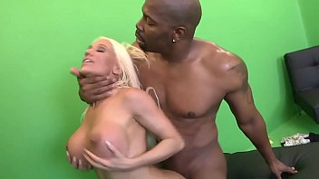 Big huge black boob tit Big black cock penetrate milf blonde with huge silicone tits